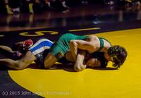 5498 Wrestling v Belle-Chr 011515