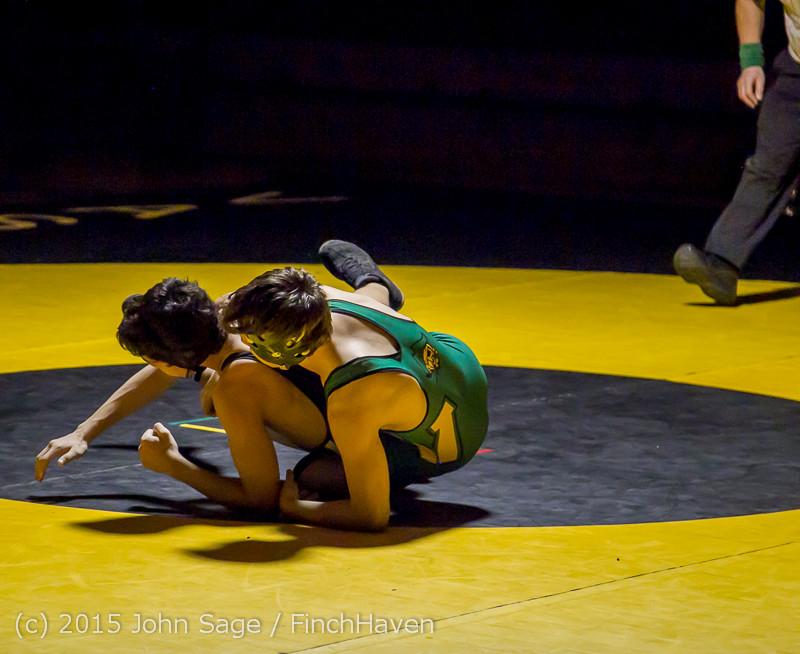 5522 Wrestling v Belle-Chr 011515