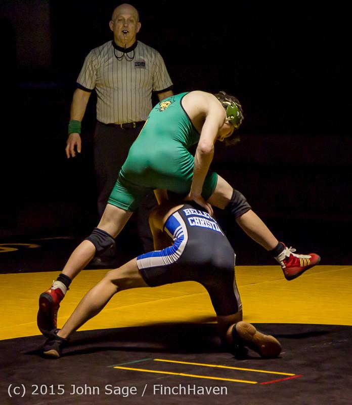 5545 Wrestling v Belle-Chr 011515