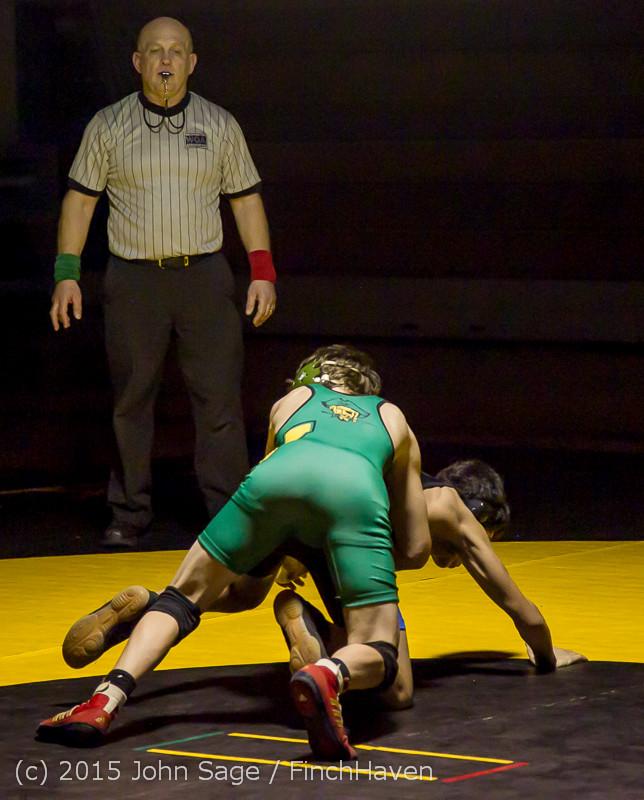 5548 Wrestling v Belle-Chr 011515