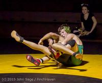5564 Wrestling v Belle-Chr 011515