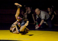 5587 Wrestling v Belle-Chr 011515