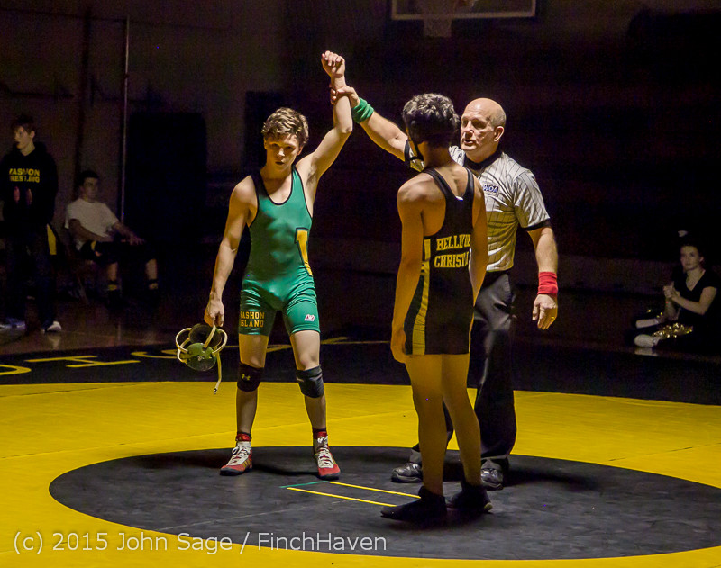 5685 Wrestling v Belle-Chr 011515