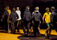 5742 Wrestling v Belle-Chr 011515