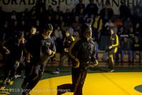1687 Varsity Wrestling v Montesano 121015