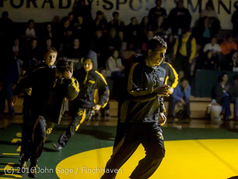1691 Varsity Wrestling v Montesano 121015