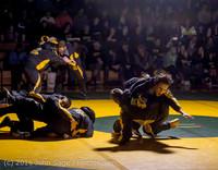 1898 Varsity Wrestling v Montesano 121015