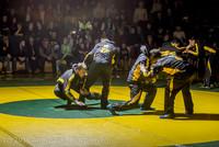 1919 Varsity Wrestling v Montesano 121015