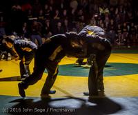 1934 Varsity Wrestling v Montesano 121015