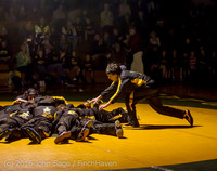 2113 Varsity Wrestling v Montesano 121015