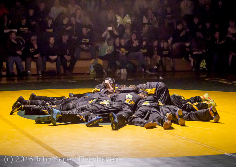 2121 Varsity Wrestling v Montesano 121015