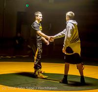 2229 Varsity Wrestling v Montesano 121015