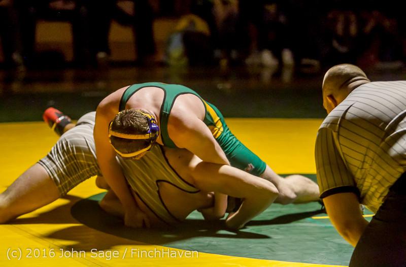 2336 Varsity Wrestling v Montesano 121015