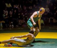 2416 Varsity Wrestling v Montesano 121015