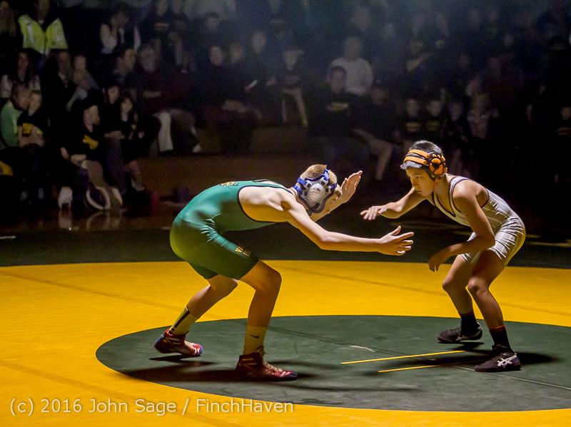 2461 Varsity Wrestling v Montesano 121015