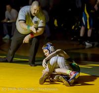 2552 Varsity Wrestling v Montesano 121015