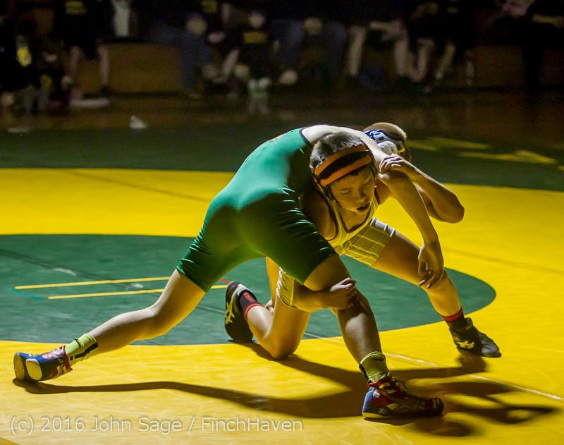 2689 Varsity Wrestling v Montesano 121015
