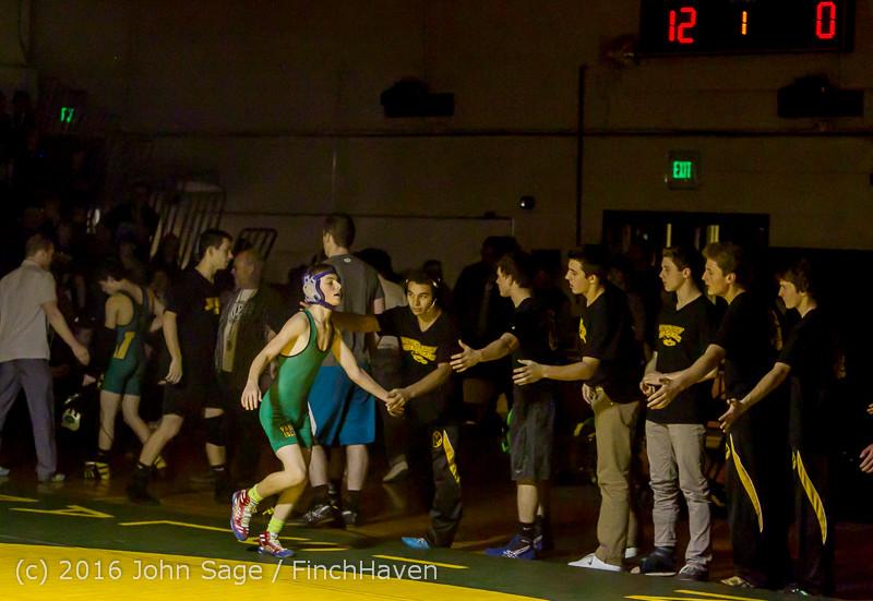 3063 Varsity Wrestling v Montesano 121015
