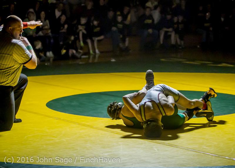 3441 Varsity Wrestling v Montesano 121015
