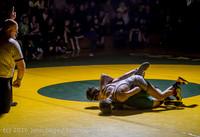 3445 Varsity Wrestling v Montesano 121015