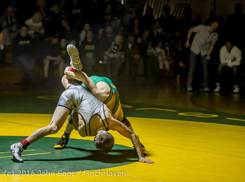 3584 Varsity Wrestling v Montesano 121015