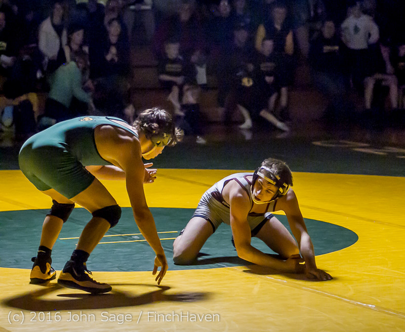 3623 Varsity Wrestling v Montesano 121015
