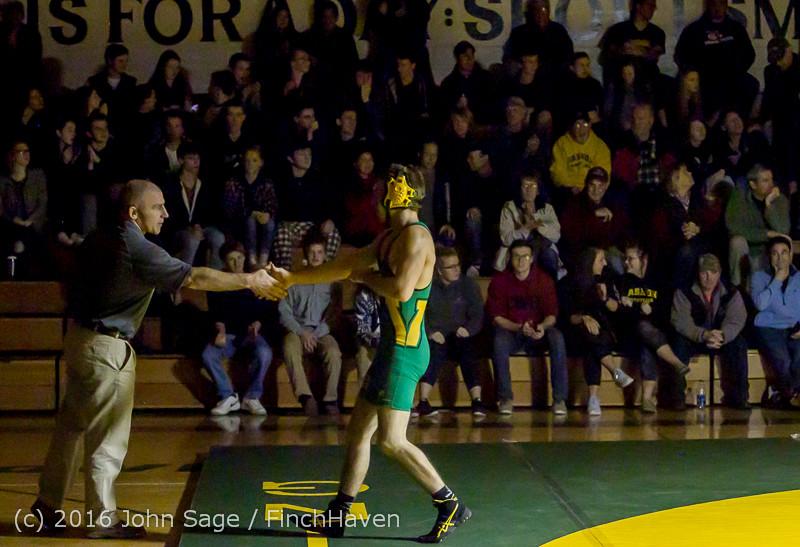 4262 Varsity Wrestling v Montesano 121015