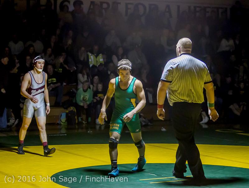 4296 Varsity Wrestling v Montesano 121015
