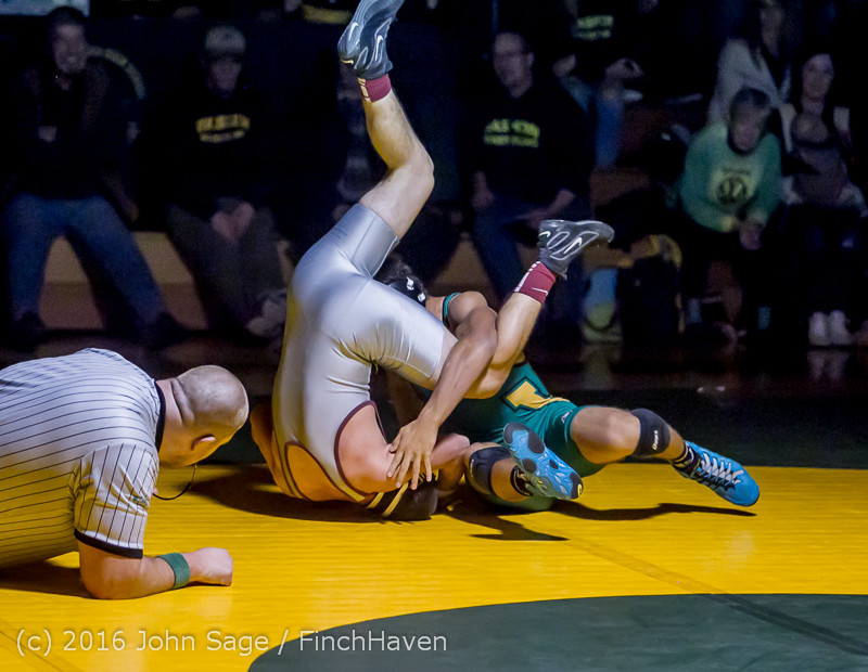 4397 Varsity Wrestling v Montesano 121015