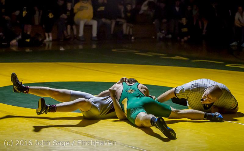 4546 Varsity Wrestling v Montesano 121015