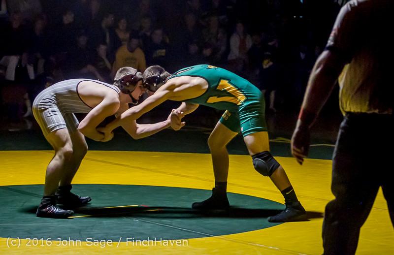 4641 Varsity Wrestling v Montesano 121015