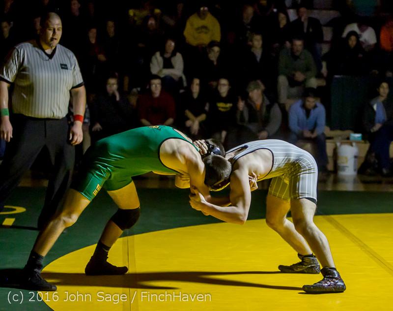 4657 Varsity Wrestling v Montesano 121015