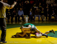 5108 Varsity Wrestling v Montesano 121015