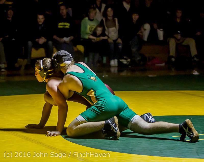 5355 Varsity Wrestling v Montesano 121015