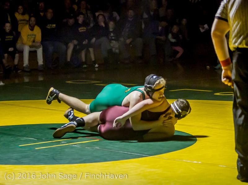 5434 Varsity Wrestling v Montesano 121015