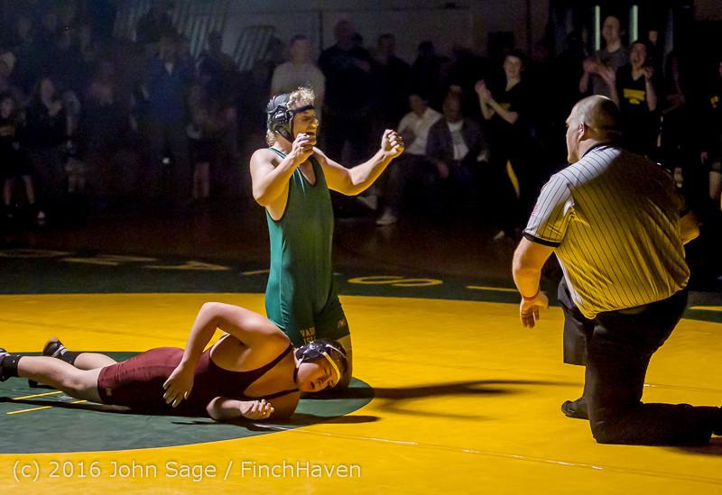 5514 Varsity Wrestling v Montesano 121015