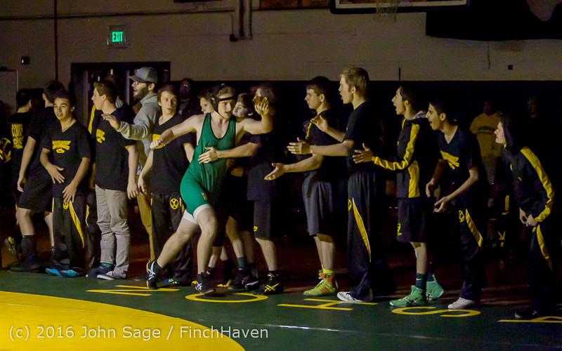 5550 Varsity Wrestling v Montesano 121015
