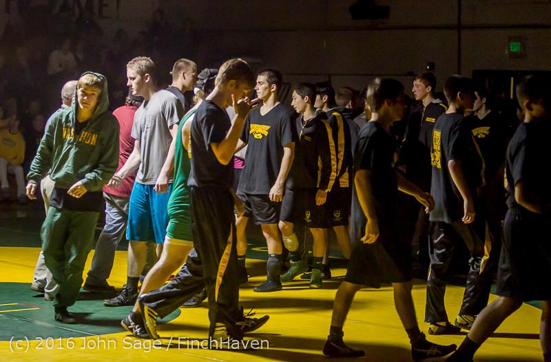 5620 Varsity Wrestling v Montesano 121015