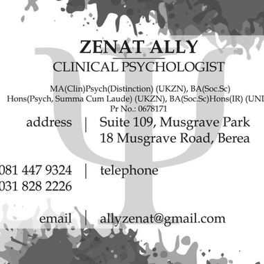 Photo of Zenat Ally