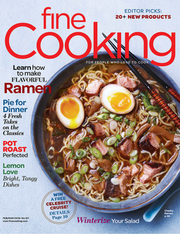 Fine Cooking Magazine Cover
