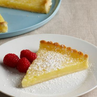 Pâte Sucrée and Lemon Tart