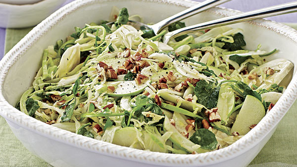 Recipes easy recipes menu ideas finecooking green cabbage apple fennel salad forumfinder Images