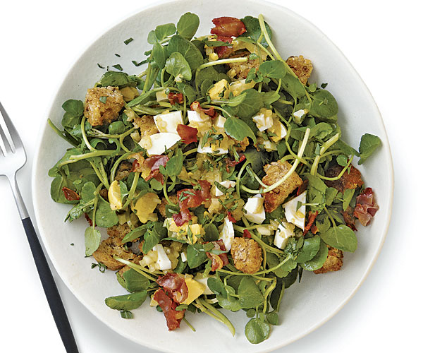 watercress spinach salad