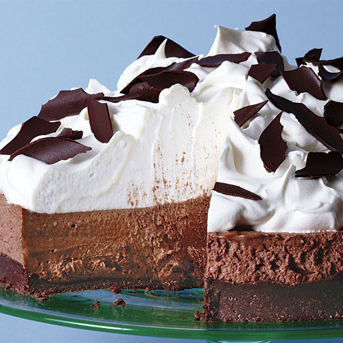 No-Bake Chocolate Mousse Pie - FineCooking