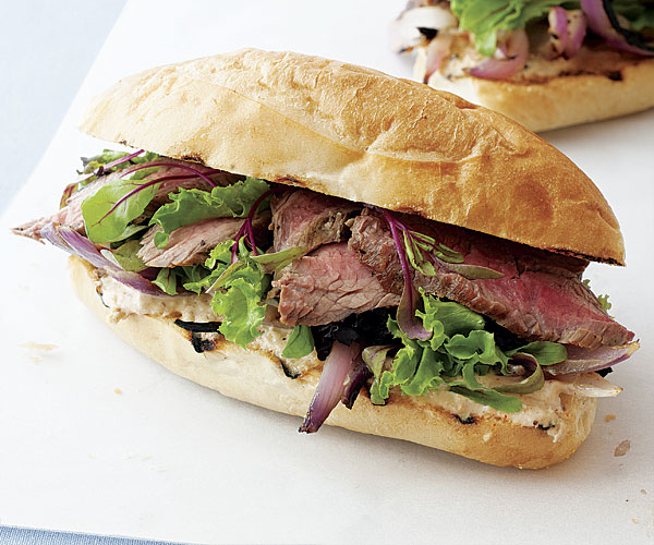 Steak Sandwiches with Spicy Horseradish Mayonnaise ...