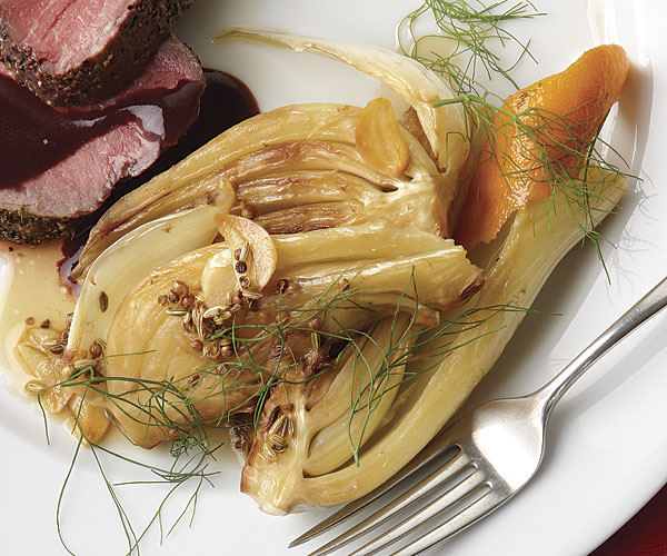 Braised Fennel with Orange - Recipe - FineCooking