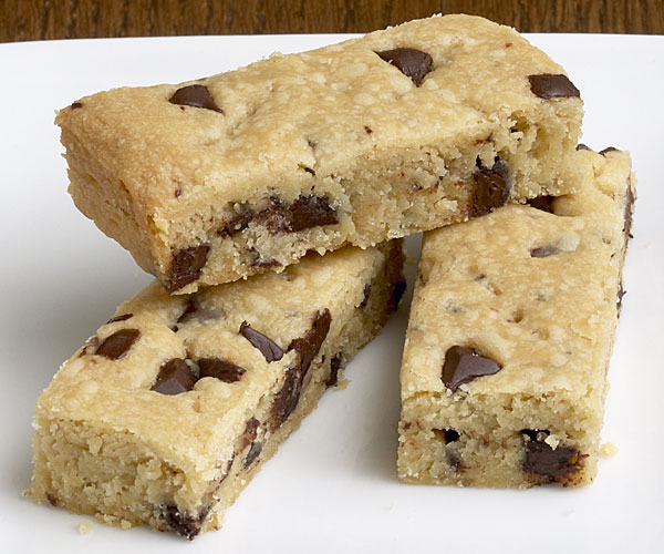 Espresso Chocolate Chip Shortbread Cookies - Recipe ...