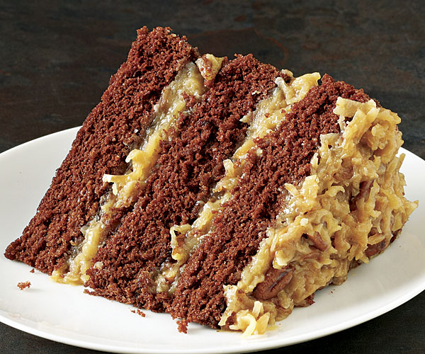 Fine Cooking German Chocolate Cake