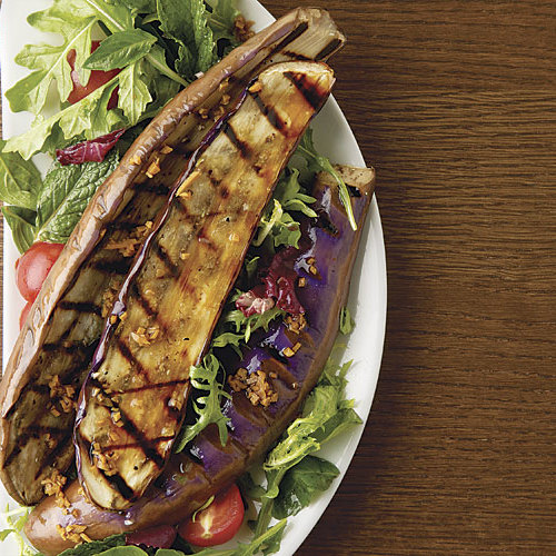 Southeast Asian Grilled Eggplant Salad - FineCooking
