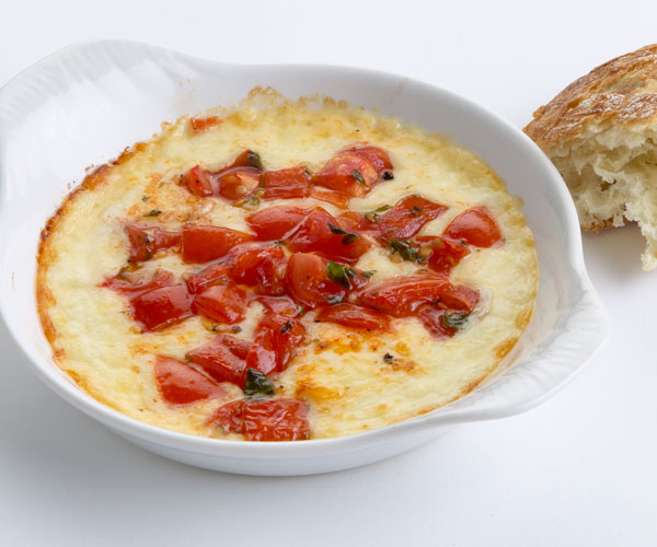 Baked Provolone with Tomatoes, Marjoram, and Balsamic ...